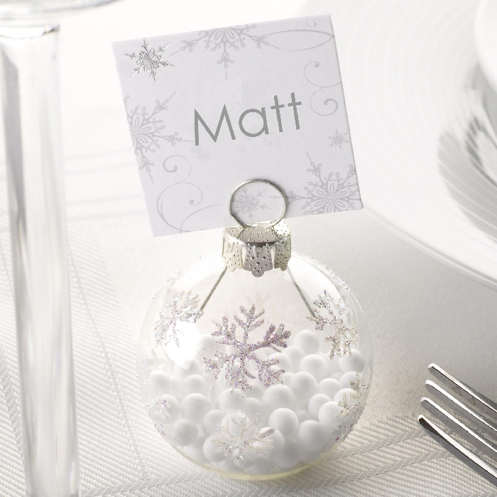 Image of Bauble Place Card Holder