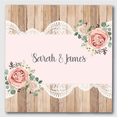 Image of Rustic & Lace Pink