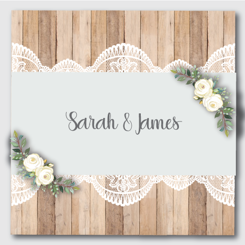 Image of Rustic & Lace Blue