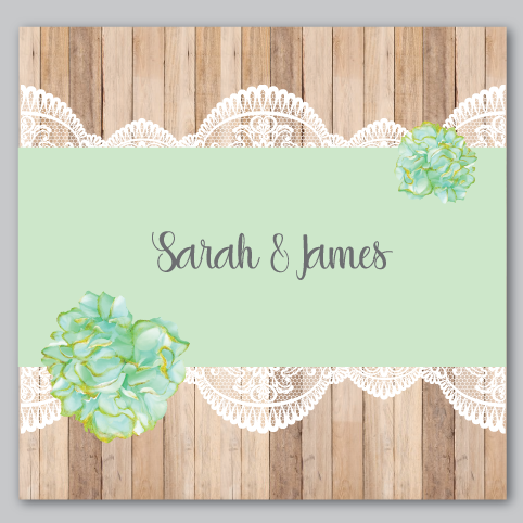 Image of Rustic & Lace Green